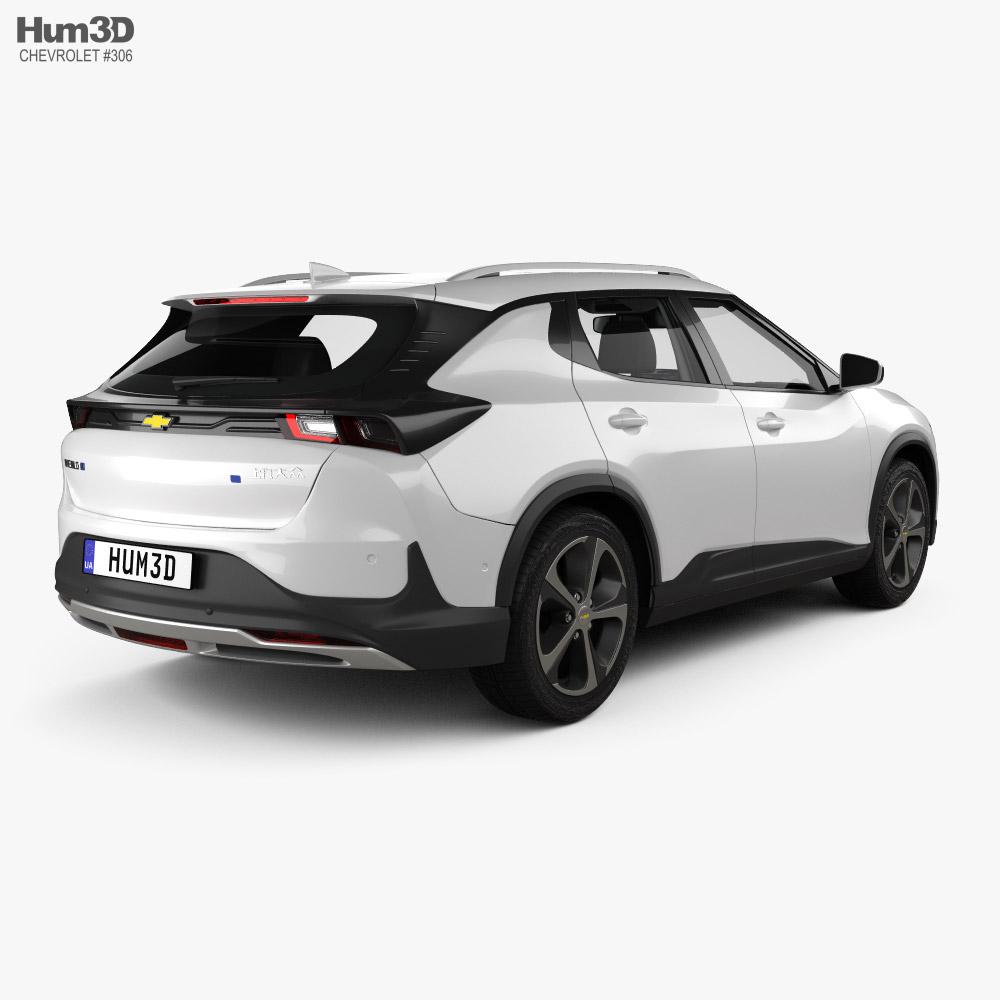 Chevrolet Menlo with HQ interior 2019 3d model