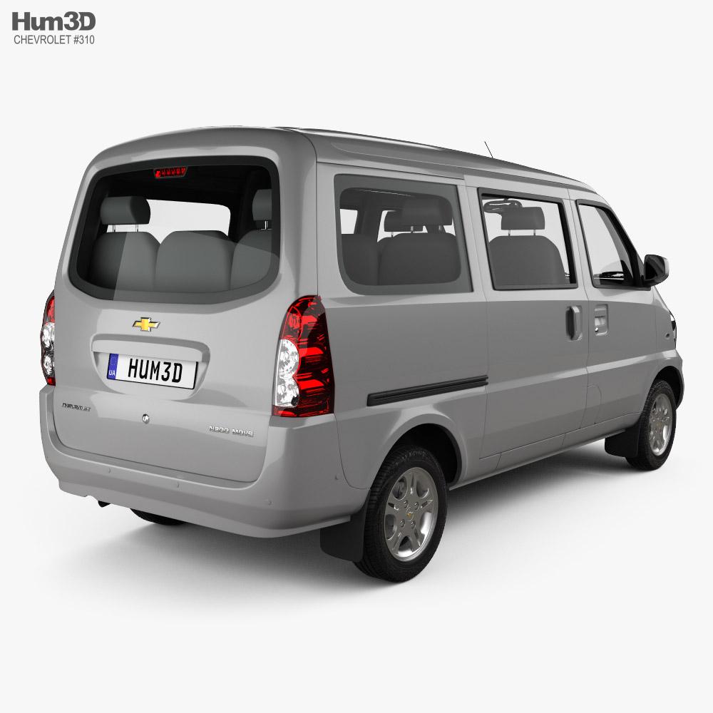Chevrolet N300 Move 2012 3d model