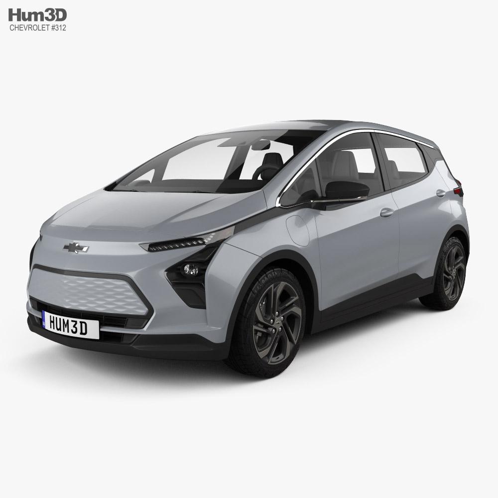 Chevrolet Bolt EV 2021 3D model