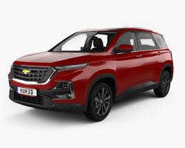 Chevrolet Captiva avec Intérieur 2019 Modèle 3D