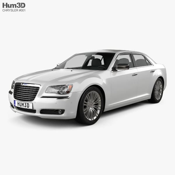 3D model of Chrysler 300 2011