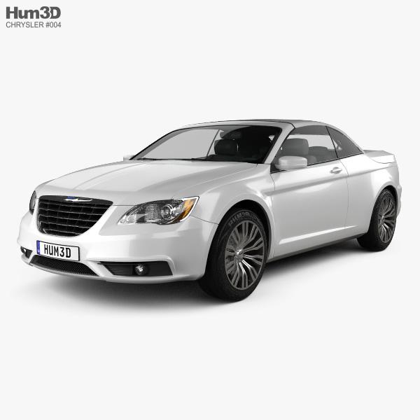 Chrysler 200 Convertible 2011 3D model