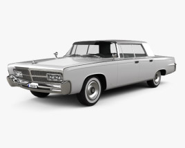 3D model of Chrysler Imperial Crown 1965