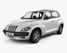 3D model of Chrysler PT Cruiser 2005