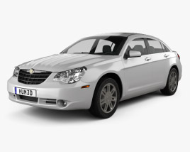 3D model of Chrysler Sebring sedan 2007