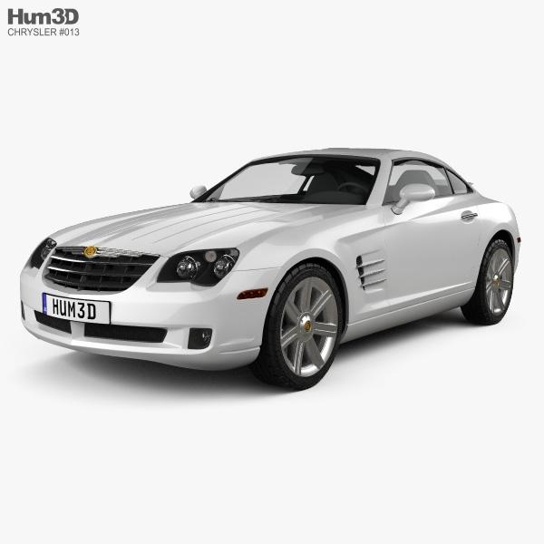 Chrysler Crossfire coupe 2003 3D model