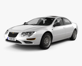 3D model of Chrysler 300M 2004