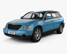 3D model of Chrysler Pacifica 2006