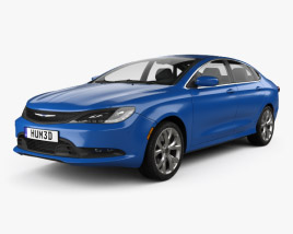 3D model of Chrysler 200 S 2015