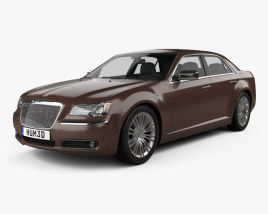 3D model of Chrysler 300 C Executive Series 2012