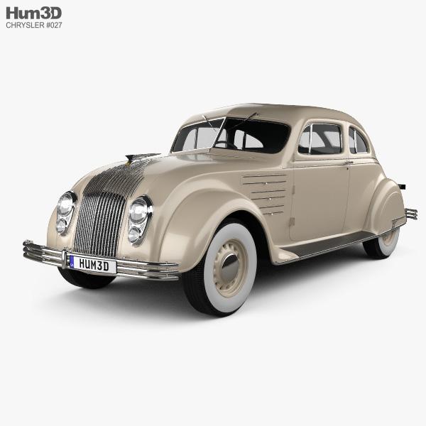 Chrysler Imperial Airflow 1934 3D model