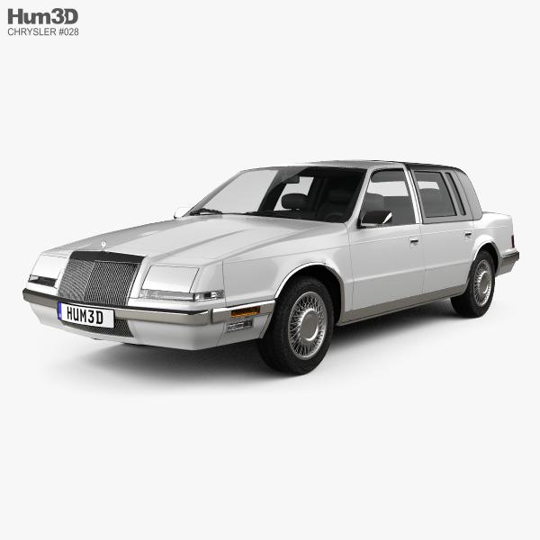 3D model of Chrysler Imperial 1989