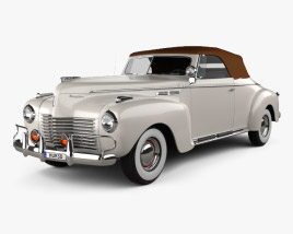 3D model of Chrysler New Yorker Highlander 1940
