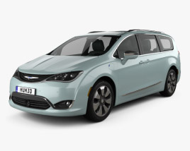 3D model of Chrysler Pacifica Hybrid 2017