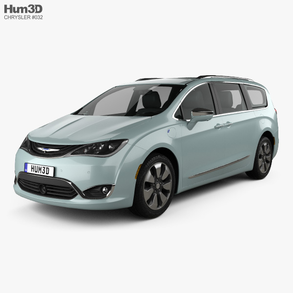 Chrysler Pacifica Hybrid 2017 3D model