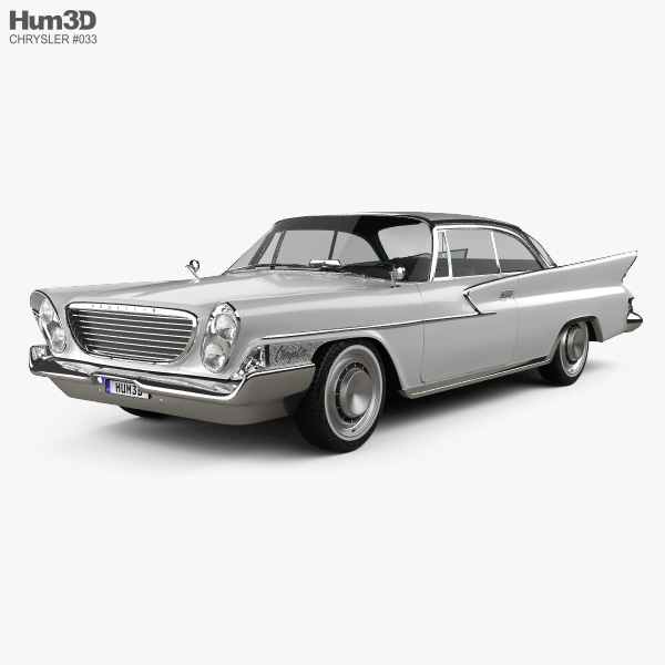 Chrysler Newport 2-door hardtop 1961 3D model