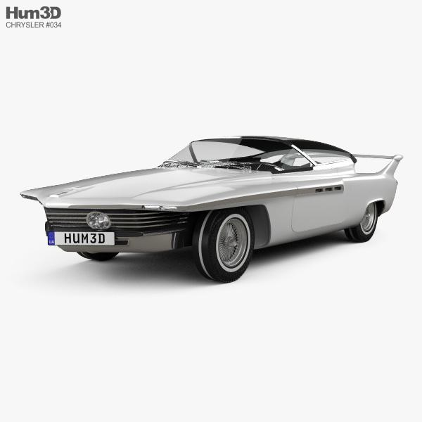 Chrysler TurboFlite 1961 3D model