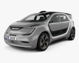 3D model of Chrysler Portal 2017