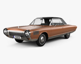 3D model of Chrysler Turbine 1963