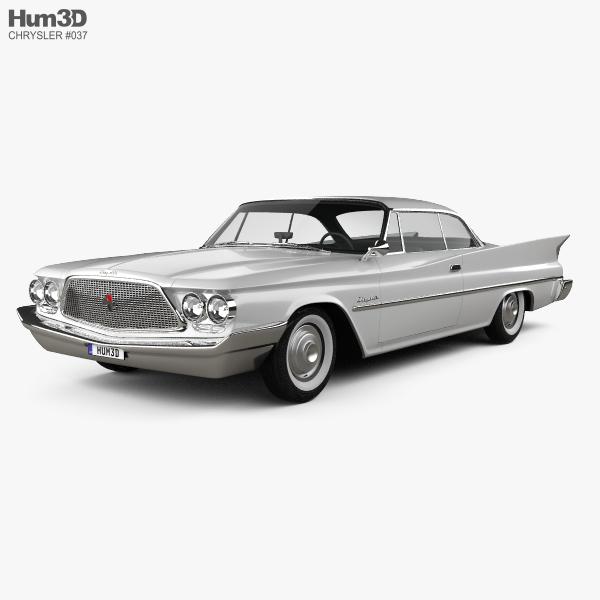 Chrysler Saratoga hardtop coupe 1960 3D model