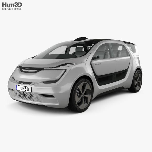 Chrysler Portal with HQ interior 2017 3D model