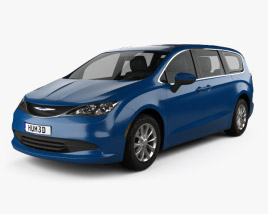 3D model of Chrysler Voyager 2019