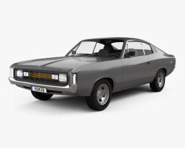 3D model of Chrysler Valiant Charger RT 1971