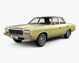 3D model of Chrysler Valiant Regal 1978