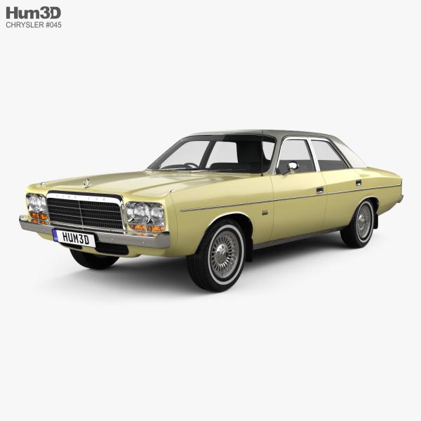 3D model of Chrysler Valiant Regal 1978