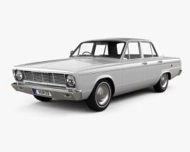 Chrysler Valiant 1966 3D-Modell