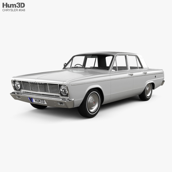 3D model of Chrysler Valiant 1966