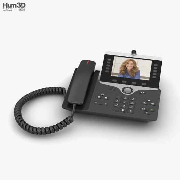 Cisco IP Office Phone 3D model