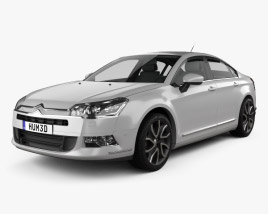 3D model of Citroen C5 Saloon 2011