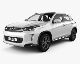 3D model of Citroen C4 Aircross 2013