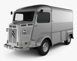 3D model of Citroen H Van 1980