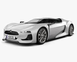 3D model of Citroen GT 2008