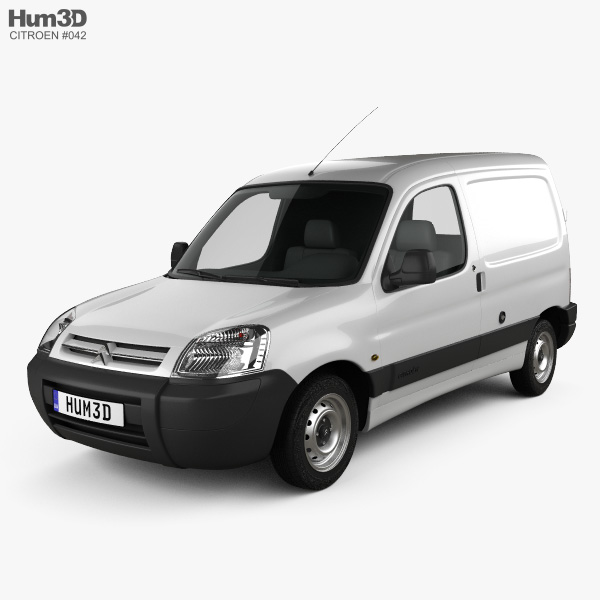 3D model of Citroen Berlingo Van 2002