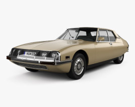 3D model of Citroen SM 1970