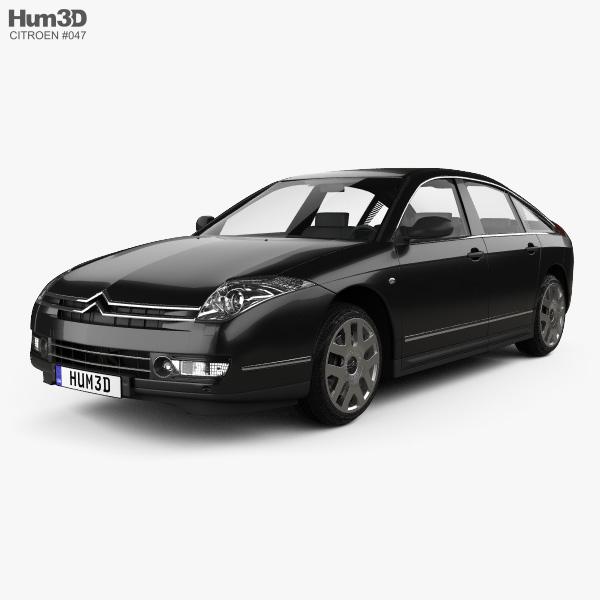 Citroen C6 2005 3D model