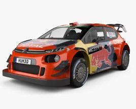 3D model of Citroen C3 WRC 2019