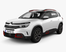 3D model of Citroen C5 Aircross 2018