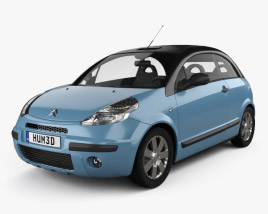 3D model of Citroen C3 Pluriel 2006