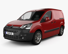 3D model of Citroen Berlingo Panel Van L1 2015