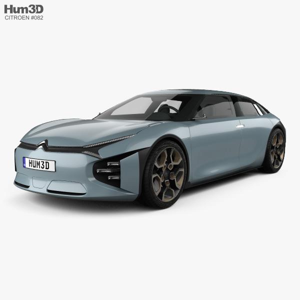 3D model of Citroen CXperience 2016