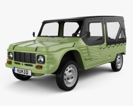 3D model of Citroen Mehari 1968