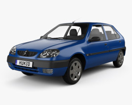 3D model of Citroen Saxo 1999