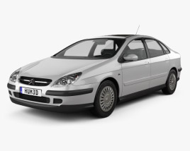 3D model of Citroen C5 liftback 2001