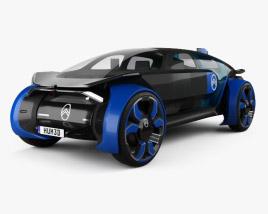 3D model of Citroen 19_19 2019