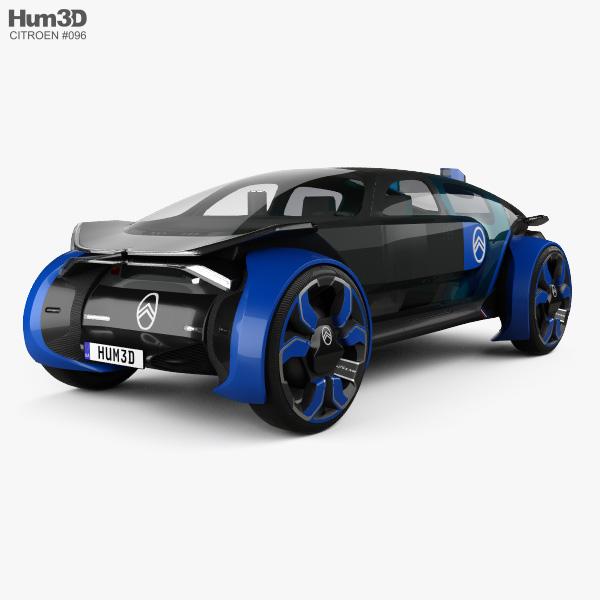 Citroen 19_19 2019 3D model