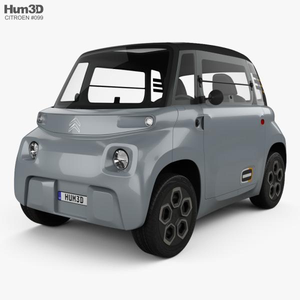 Citroen Ami 2021 3D model